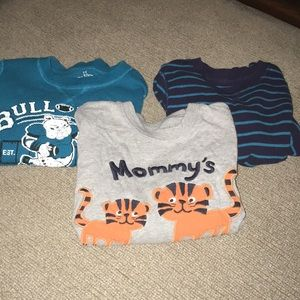 Three Long Sleeve Tops Children's Place/Gymboree